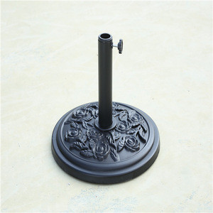 Hot selling solar stand  outdoor umbrella base parts