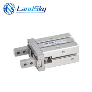 LandSky air tac switch products cheap Pneumatic air gripper parallel style HFZ