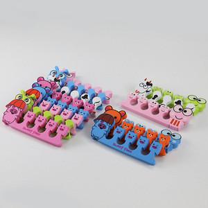 Lovely Animals Shape Design EVA Plastic Separator Foot Finger Toe Separator