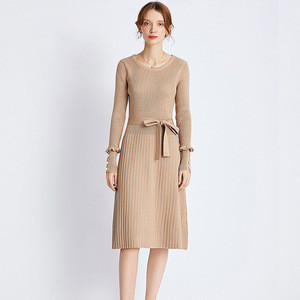 Maxnegio knit dresses women knitted dresses casual for women knit clothing