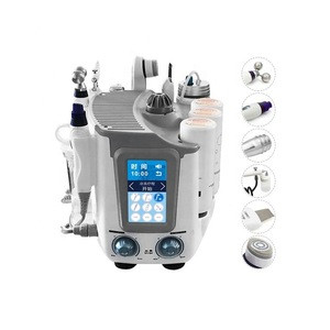 Multifunction Microdermabrasion 7 in 1 H2O2 H202 Facial Machine Aqua skin peeling machine for Spa beauty center