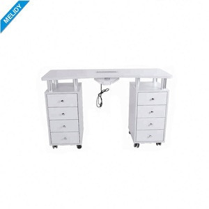 Nail Set Adjustable Height Manicure Table