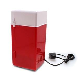 New Mini USB Fridge Cola Drink Beverage Cans Cooler Warmer Refrigerator Freezer Car Fridge High quality