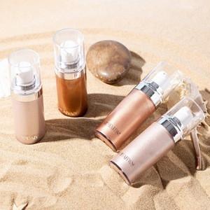 New product makeup highlight shimmering soft body highlight liquid Highlighter Spray for women