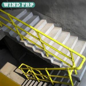 Non Corrosion Fiberglass Handrail Fiberglass Balustrade
