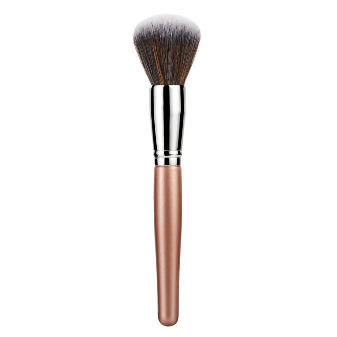 OEM 4PCS Vegan Hair Makeup Brush Set with PU Bag
