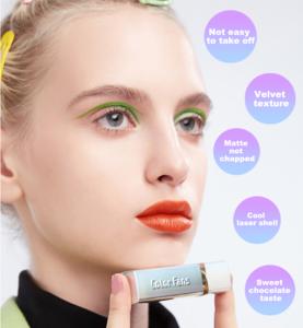 OEM Matte Velvet Liquid Lipstick Nude Lipgloss velvet lipstick private label Lip Gloss Container