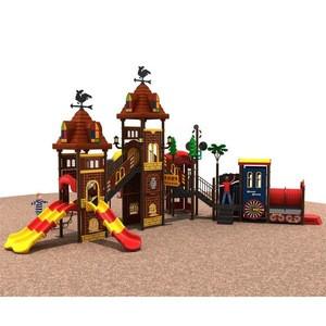 Professional supplier slide playgrounds equipment environment-friendly play centre amusement park