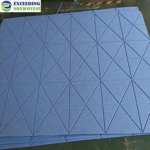 Soundproof recording studio acoustical wall panels