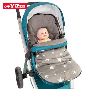 Stroller Accessory 3 Patterns Waterproof Footmuff Winter Warm Baby Stroller Sleeping Bag