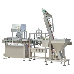 TANG capping machine manufacturers 100% mechanical vacuum closing capping machine linear