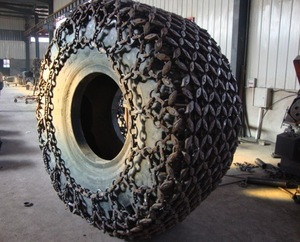 Tractor tyre snow chain in different standard