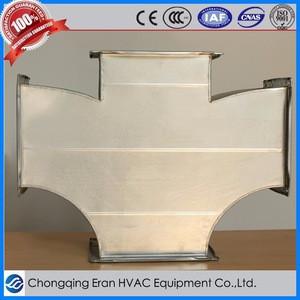 Ventilation three-way air conditioner duct parts