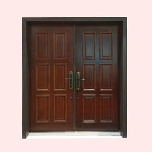 Yingchen aluminum double french glass door exterior