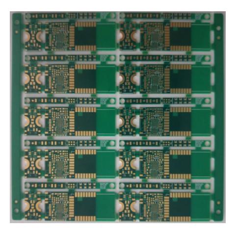 8Layers PCB Board HDI 3+2+3 ELIC, Half Hole VIP