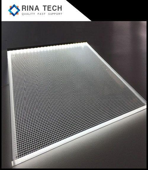 Laser dot PMMA guide plate for led light panel