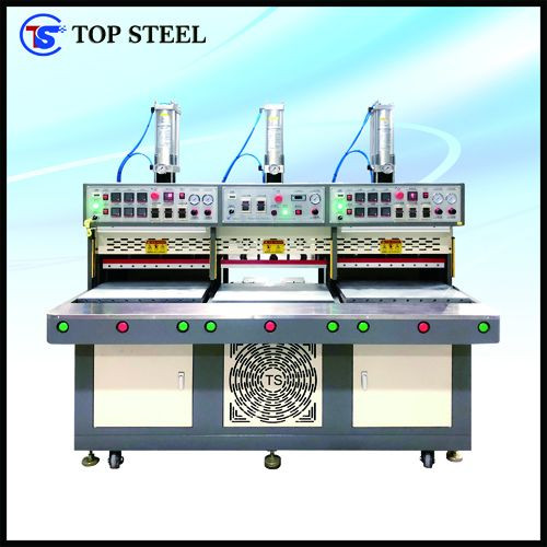 TS-997C Seamless Heating Cooling Automatic Pressing Machine
