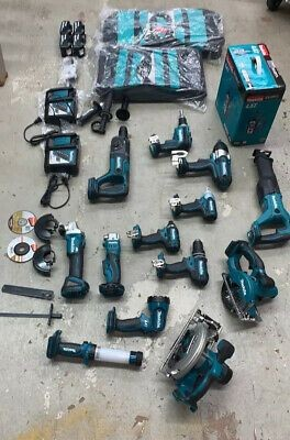 15 Pieces Set Makitas LXT Lithiu-ion 18 Volt Cordless Combo Kits makitas 18v combo kit makitas combo kit