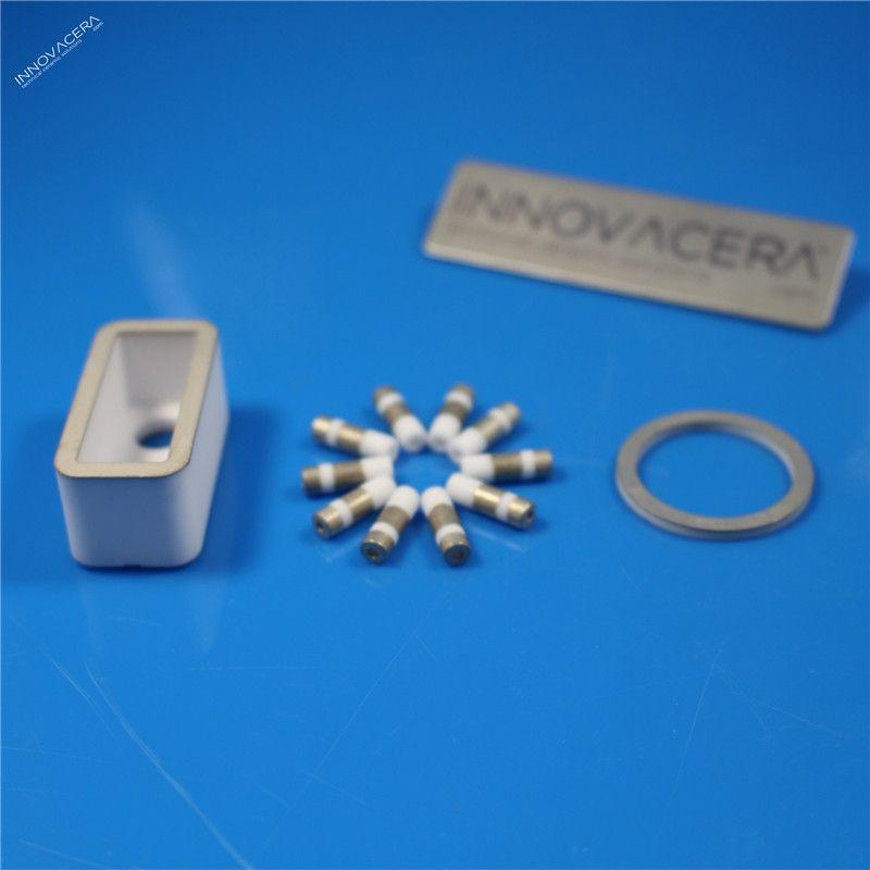 96% 99% Metallized Alumina Ceramic Tube/Bushing/Sleeve /Innovacera