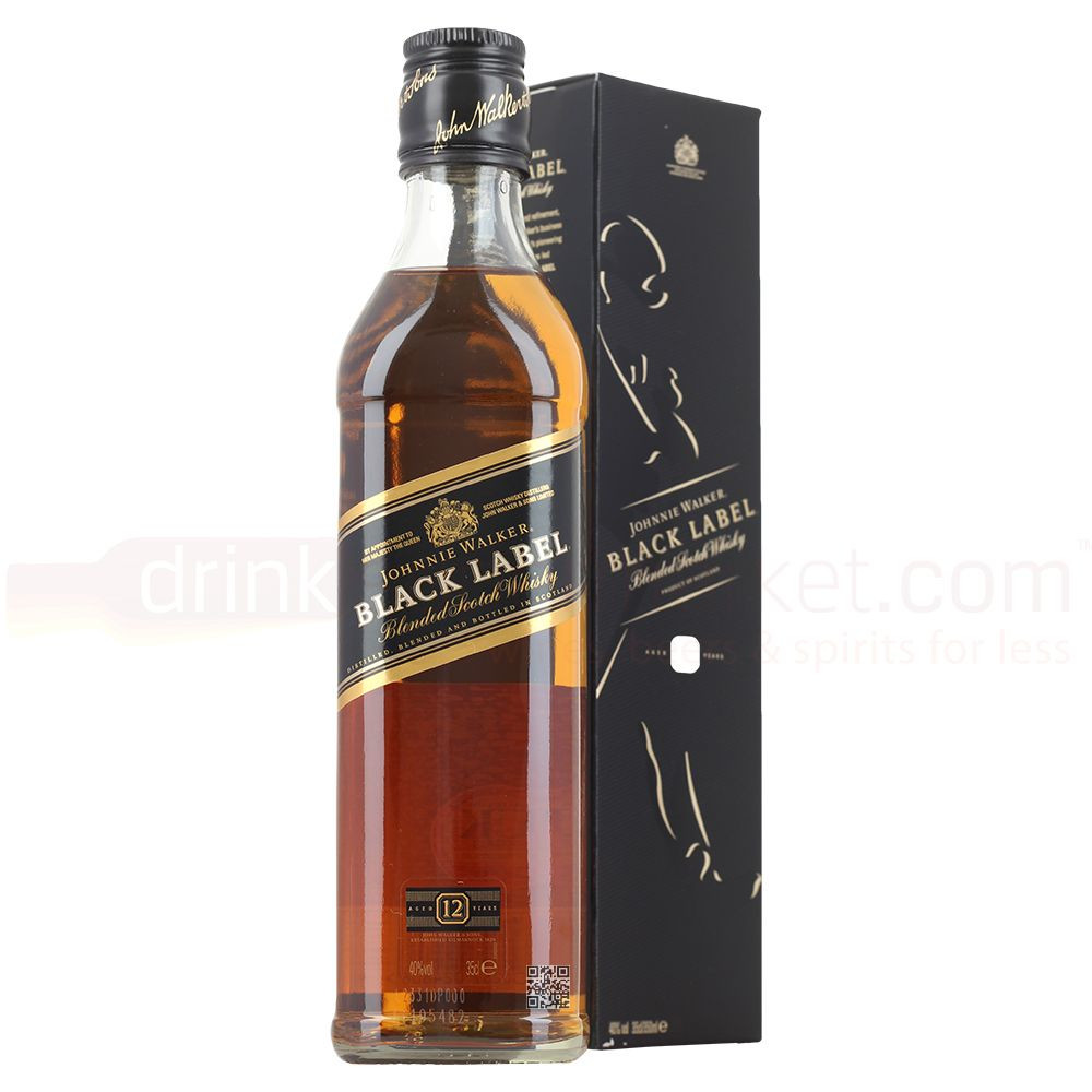 HOT SALE JOHNIE WALKER BLACK LABEL WHISKY 750ML
