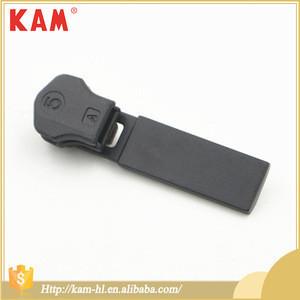 5# custom autolock metal zinc alloy zipper slider pull tab puller for garment clothing bag shoe