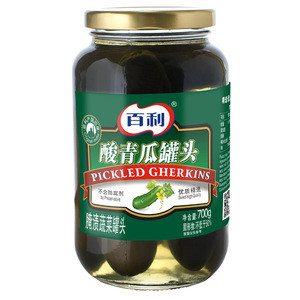 700g Canned Pickled Cucumber Wholesale OEM