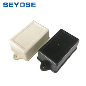 ABS plastic project case plastic electrical box wall mounting juntion box IP54 plastic enclosure wire connection box 70*50*40mm