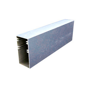 Aluminum Curtain Slat Wall System Construction Buildings Extrusion Profiles For Window And Door