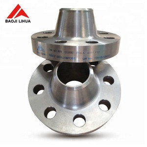ASME B 16.5 Ti gr2 titanium WN RF Forged flange for oil & gas industry
