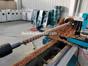 Automatic wood turning lathe for sale woodworking machine baseball bat cnc wood turning lathe