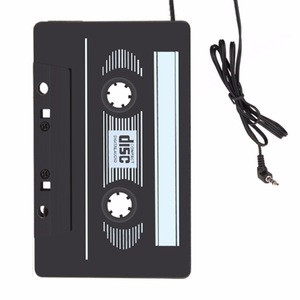 CA01 3.5mm Jack Stereo Tape Car Cassette Adapter MP3 Player for Mobile Phone