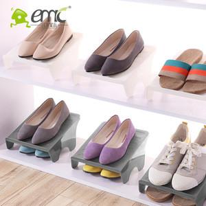 Eco-Friendly Double Layer Plastic Shoe Rack Home Organizer Simple PP Shoes Storage Rack