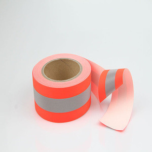 EN 469 Highest quality 30 Industrial Wash cycles wholesale Reflective Flame resistant  retardant Tape for fireman uniform