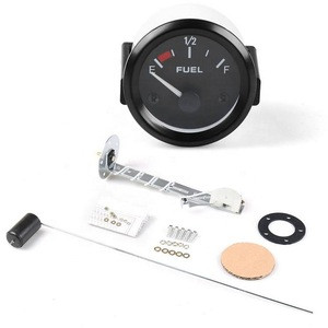 "GAUGE 2""52mm Universal 12V Car Auto oil level Gauge with Fuel Float White Pointer Car Fuel flow Meter"