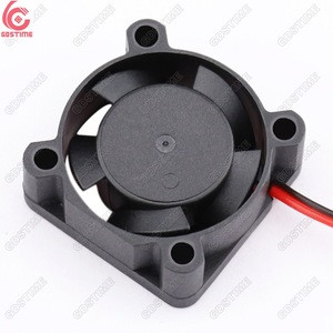 Gdstime High Speed RC Car Brushless Dc Axial Fan 1 inch 2510 25*25*10mm 25mm
