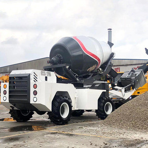 High Capacity Mobile Concrete Mixer With Pump Price In Kenya