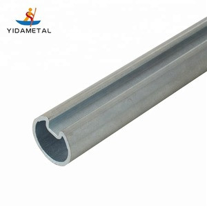 """Hollow Shaft 1""""(25.4mm) With Key way 1/4"""", WT= 3.0 mm Galvanizing"""