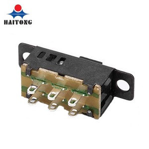 Hot selling ! good product 0.3A 6V DC Waterproof electronic 6 position Slide switch