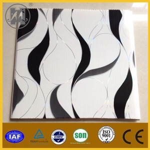 Indoor decoration the latest design ceiling of pvc panel pvc plastic ceiling wall panel