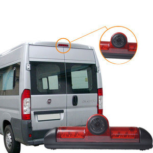IPoster CCD Rear View For Fiat Ducato Citroen Jumper Peugeot Boxer Brake Light reverse Camera