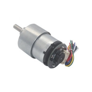 JGB37-520 speed reducer for dc electrical motor with gear box