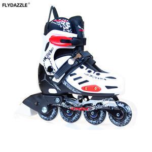 Led flashing roller wheel inline skates light 4 wheel retractable roller skate shoes inline