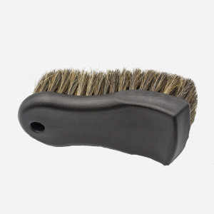 New premium auto detailing brush car care interior cleaning products long bristle  horse hair leather cleaning