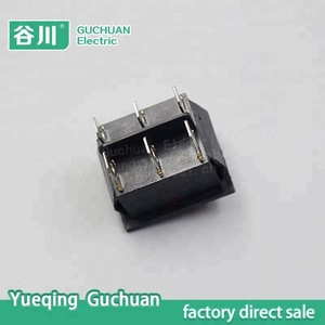 On off 6 pin Illuminated rocker switch,mechanical boat switch,auto parts KCD4-202-N1
