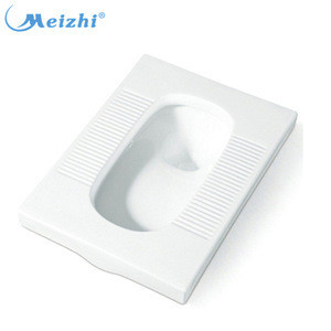 Professional safety bathroom ceramic types of squat toilets