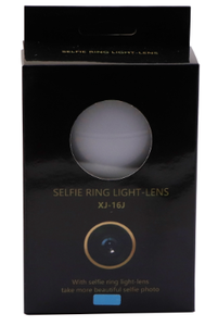 Promotion gadget Selfie LED Ring Flash Light with wide angle lens phone Camera Beauty light