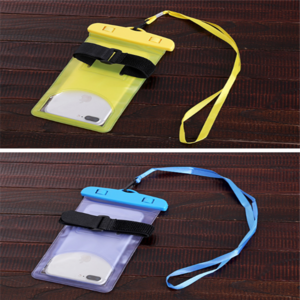 Promotional Universal Cell Phone Waterproof Bag For iPhone 6 6S, for Galaxy S5,S6, for Galaxy Note 3, MP3 Player Waterproof Bag