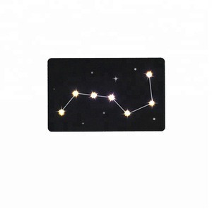 Proximity smart card manufacturer custom design access control rfid nfc card with led light