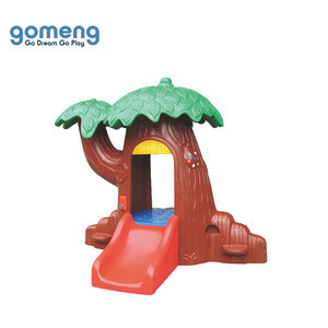 Safety Small Kids Plastic Playhouse, Cheap Indoor Outdoor Children Playhouse