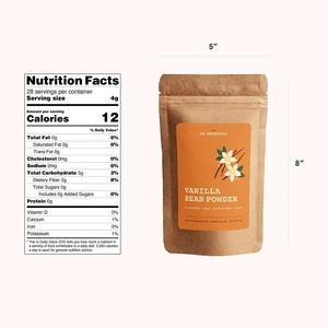 SB Organics Vanilla Bean Powder All Natural, Non-GMO, Antioxidant-Rich Powder Organic Sourced From Madagascar